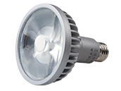 Soraa Dimmable 18.5W, 120V, 95 CRI, 2700K, JA8 Compliant, Enclosed Fixture Rated 9° PAR30/L LED Bulb, Medium Base