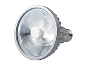 Soraa Dimmable 18.5W, 120V, 95 CRI, 3000K, JA8 Compliant, Enclosed Rated 9° PAR30/L LED Bulb, Medium Base