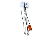 Keystone T8 Retrofit 2-Lamp Wiring Harness for LED Tubes