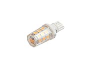 Bulbrite Non-Dimmable 2.5W 12V 3000K T3 Wedge Base LED Bulb