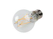 Bulbrite Dimmable 8.5W 2700K A19 Filament LED Bulb, Enclosed and Wet Rated