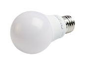 TCP Non-Dimmable 9 Watt 3000K A-19 LED Bulb, Enclosed Fixture Rated