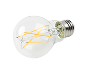 Bulbrite Dimmable 7W 2700K A19 Filament LED Bulb, Enclosed and Wet Rated