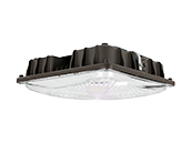 27 Watt, 100 Watt MH Equivalent, 5000K LED Low-Profile Canopy Fixture