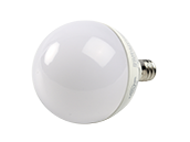Maxlite Dimmable 5W 2700K G-16.5 Frosted Globe LED Bulb, E12 Base, Enclosed Rated