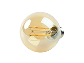 Bulbrite Dimmable 5W 2200K Vintage G25 Filament LED Bulb, Outdoor and Enclosed Rated