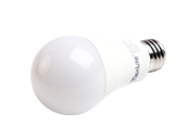 Maxlite Non-Dimmable 14 Watt 3000K Rough Service A19 LED Bulb, Enclosed Fixture Rated