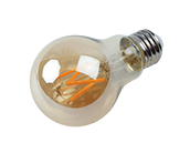 Bulbrite Dimmable 4.5W 2200K Vintage A19 Filament LED Bulb, Enclosed Fixture and Wet Rated
