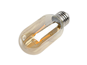 Bulbrite Dimmable 4W 2200K Vintage T14 Filament LED Bulb, Enclosed and Wet Rated