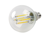 Bulbrite Dimmable 4W 2700K G-16 Filament LED Bulb, Enclosed Rated