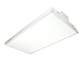 MaxLite Dimmable 90 Watt 5000K LED High Bay Linear Fixture With Bi-Level Motion Sensor
