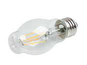 Satco Dimmable 4.5W 2700K BT15 Filament LED Bulb, Enclosed Fixture Rated