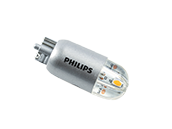 Philips Non-Dimmable 1.2W 12V 3000K T5 Wedge LED Bulb, Title 20 Compliant, Enclosed Rated (Pack of 2)