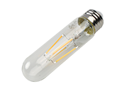 Bulbrite Dimmable 5W 3000K T9 Filament LED Bulb, Enclosed Fixture and Wet Rated