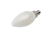 Bulbrite Dimmable 5W 3000K Decorative Filament LED Bulb, Enclosed Fixture Rated