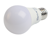 Maxlite Non-Dimmable 9W 3000K A19 LED Bulb, Enclosed Fixture Rated