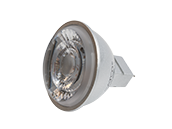 Satco Dimmable 8W 4000K 15° MR16 LED Bulb, GU5.3 Base, Enclosed Fixture Rated
