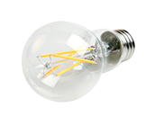 TCP Dimmable 8W 2700K A19 Filament LED Bulb, Enclosed Fixture Rated