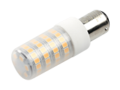 EmeryAllen Dimmable 5W 120V 3000K T3 LED Bulb, BA15d Base, Enclosed Fixture Rated, JA8 Compliant