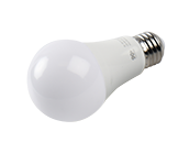 90+ Lighting Dimmable 9 Watt 2700K 92 CRI A19 LED Bulb, JA8 Compliant & Enclosed Rated