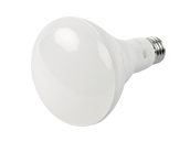 90+ Lighting Dimmable 9 Watt 2700K 93 CRI BR30 LED Bulb, JA8 Compliant & Enclosed Rated