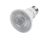 90+ Lighting Dimmable 7 Watt 2700K 40 Degree 90 CRI PAR20 LED Bulb, JA8 Compliant, Enclosed and Wet Rated