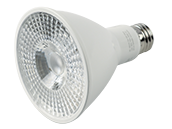 90+ Lighting Dimmable 10 Watt 3000K 40 Degree 93 CRI PAR30L LED Bulb, JA8 Compliant, Enclosed Rated