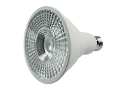 90+ Lighting Dimmable 18 Watt 3000K 40 Degree 93 CRI PAR38 LED Bulb, JA8 Compliant, Enclosed and Wet Rated