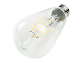 90+ Lighting Dimmable 7W 2700K ST19 Filament LED Bulb