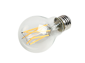 Bulbrite Dimmable 8.5W 3000K 90 CRI A19 Filament LED Bulb, JA8 Compliant, Outdoor and Enclosed Rated