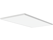 Lithonia Contractor Select CPANL Dimmable 2x4 Wattage Adjustable (32W/42W/52W) 4000K LED Flat Panel