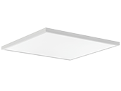 Lithonia Contractor Select CPANL Dimmable 2x2 Adjustable Lumen LED Flat Panel, 4000K