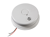 Worry-Free Hardwired Interconnect Smoke Alarm Sealed Lithium Battery Backup