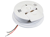 Kidde Hardwired Combination Smoke & CO Alarm with Ionization/Electrochemical Sensor