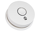 Kidde Wire-Free Interconnected Battery Powered Smoke Alarm With 10-Year Sealed Battery