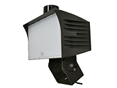 Maxlite 400 Watt HID Equivalent, 120 Watt 4000K LED Flood Light Fixture With Trunnion Mount & Photocell