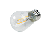 Maxlite Non-Dimmable 2W 2700K S14 Filament LED Bulb, Enclosed and Wet Rated