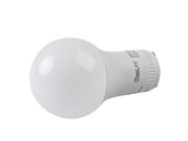 MaxLite Dimmable 6W 2700K A19 LED Bulb, GU24 Base, Enclosed Fixture Rated