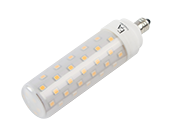 EmeryAllen Dimmable 9.5W 120V 90 CRI T3 3000K LED Bulb, E11 Base, Enclosed Fixture Rated