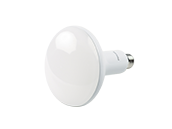 Philips Dimmable 8.8W Warm Glow 2700K to 2200K 90 CRI BR40 LED Bulb, Title 20 Compliant, Enclosed Fixture Rated