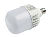 TCP Non-Dimmable 90W 5000K T-140 High Bay LED Bulb, Ballast Bypass, Enclosed and Wet Rated