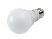 Philips Dimmable 5W Warm Glow 90 CRI 2700K-2200K A-19 LED Bulb, Enclosed Fixture Rated, Title 20 Compliant