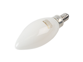 Bulbrite Dimmable 5W 2700K Decorative Filament LED Bulb, Enclosed Fixture Rated