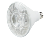 TCP Non-Dimmable 12.5W 120-277V 3000K 25° PAR38 LED Bulb, Wet and Enclosed Fixture Rated