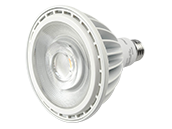 Maxlite Non-Dimmable 38W High Output 120V-277V 25 Degree 3000K PAR38 LED Bulb, Wet Rated