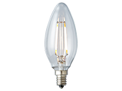 Archipelago Lighting Dimmable 3.5W 2700K Decorative Filament LED Bulb, Enclosed Fixture and Outdoor Rated