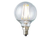 Archipelago Lighting Dimmable 4W 2700K G-16.5 Filament LED Bulb, Enclosed Fixture and Outdoor Rated