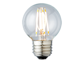 Archipelago Lighting Dimmable 4.5W 2400K G-16.5 Filament LED Bulb, Enclosed Fixture and Outdoor Rated