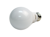 Philips Dimmable 8.8W Warm Glow 2700K-2200K A-19 LED Bulb, Enclosed Fixture Rated