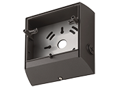 Lithonia Bronze Back Box for LIL LED Series Compact Wall Pack Light